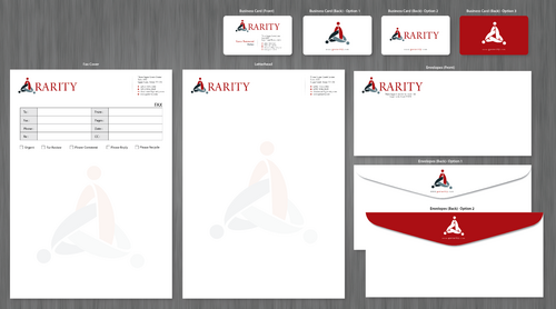 Rarity Solutions Business Cards and Stationery  Draft # 172 by ArtworksKingdom