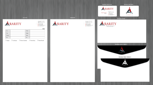 Rarity Solutions Business Cards and Stationery  Draft # 173 by ArtworksKingdom