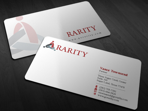 Rarity Solutions Business Cards and Stationery  Draft # 174 by Xpert