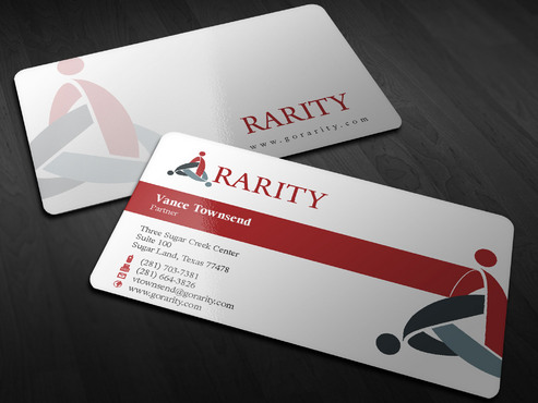 Rarity Solutions Business Cards and Stationery  Draft # 176 by Xpert