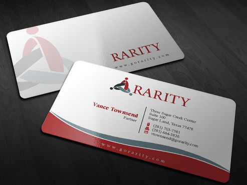 Rarity Solutions Business Cards and Stationery  Draft # 178 by Xpert