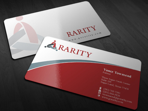 Rarity Solutions Business Cards and Stationery  Draft # 180 by Xpert