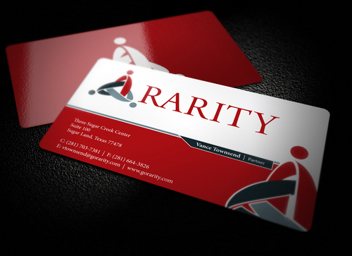 Rarity Solutions Business Cards and Stationery  Draft # 181 by i3designer