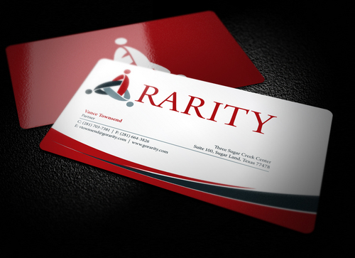 Rarity Solutions Business Cards and Stationery  Draft # 182 by i3designer