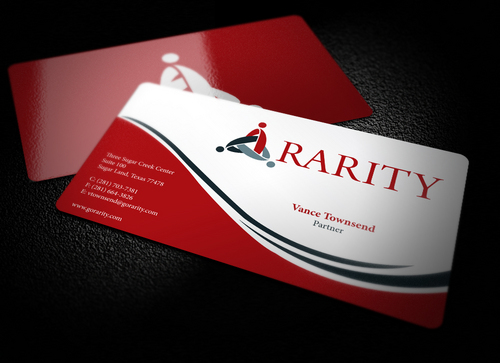 Rarity Solutions Business Cards and Stationery  Draft # 183 by i3designer