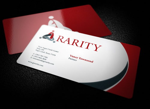 Rarity Solutions Business Cards and Stationery  Draft # 184 by i3designer