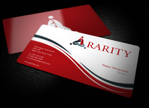 Rarity Solutions Business Cards and Stationery  Draft # 185 by i3designer