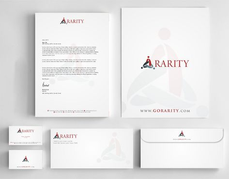 Rarity Solutions Business Cards and Stationery  Draft # 186 by Deck86