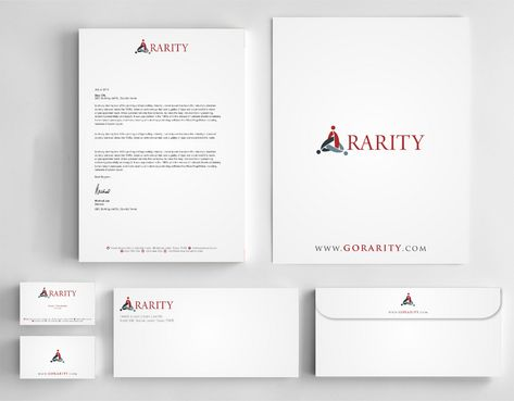 Rarity Solutions Business Cards and Stationery  Draft # 188 by Deck86