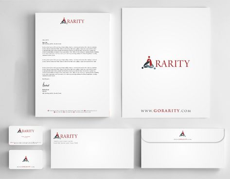 Rarity Solutions Business Cards and Stationery  Draft # 189 by Deck86