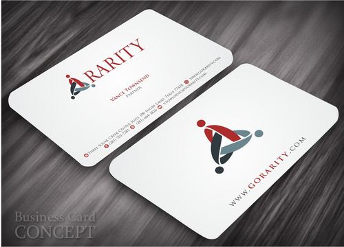 Rarity Solutions Business Cards and Stationery  Draft # 190 by Deck86
