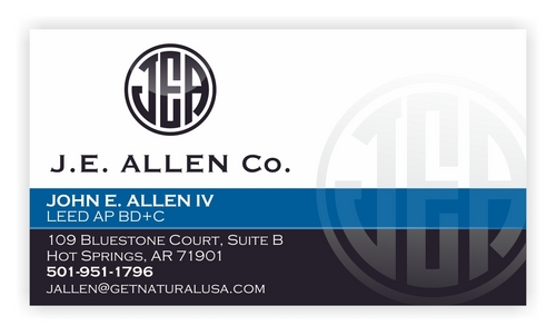J.E. Allen Company Business Cards and Stationery  Draft # 429 by raundTUW97