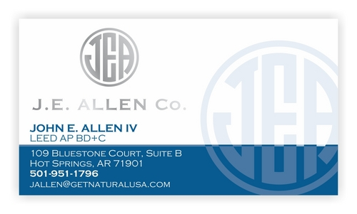 J.E. Allen Company Business Cards and Stationery  Draft # 430 by raundTUW97