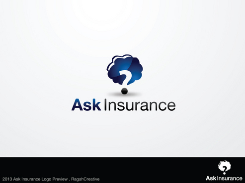 Ask Insurance A Logo, Monogram, or Icon  Draft # 65 by RaghaCreative