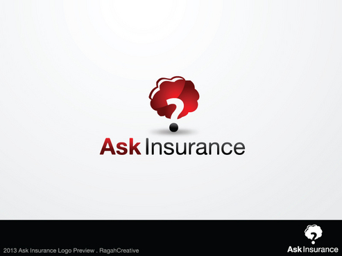 Ask Insurance A Logo, Monogram, or Icon  Draft # 66 by RaghaCreative