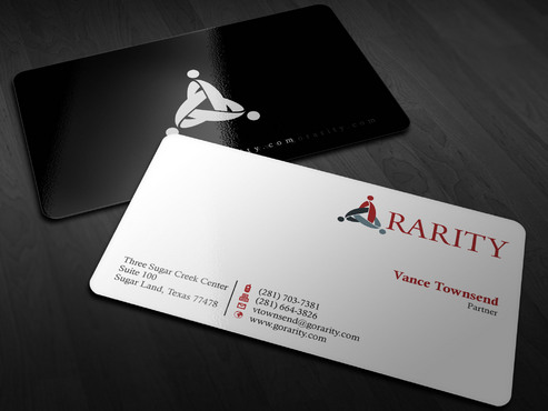 Rarity Solutions Business Cards and Stationery  Draft # 202 by Xpert
