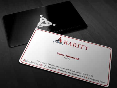 Rarity Solutions Business Cards and Stationery  Draft # 203 by Xpert