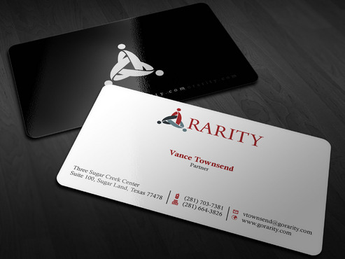 Rarity Solutions Business Cards and Stationery  Draft # 204 by Xpert