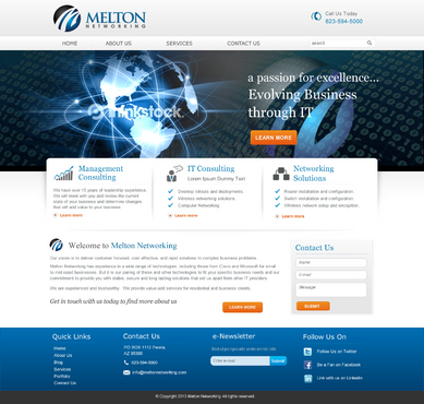 Melton Networking Complete Web Design Solution  Draft # 16 by jogdesigner