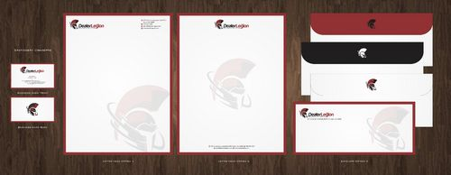 dealerlegion Business Cards and Stationery  Draft # 105 by Deck86