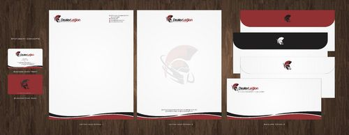 dealerlegion Business Cards and Stationery  Draft # 106 by Deck86