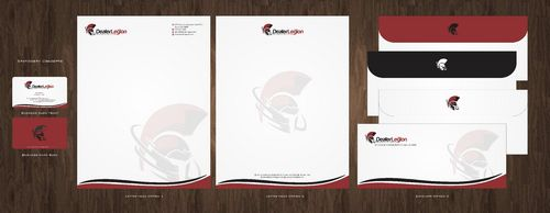 dealerlegion Business Cards and Stationery  Draft # 107 by Deck86