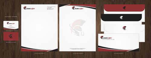 dealerlegion Business Cards and Stationery  Draft # 108 by Deck86