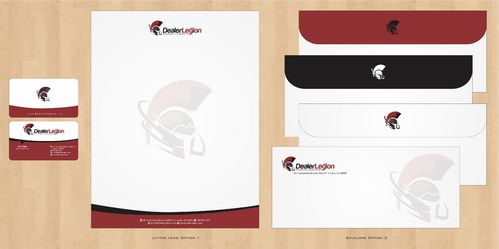 dealerlegion Business Cards and Stationery  Draft # 109 by Deck86