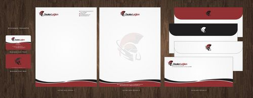 dealerlegion Business Cards and Stationery  Draft # 110 by Deck86