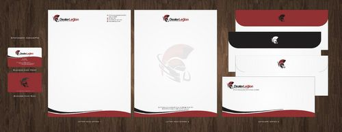 dealerlegion Business Cards and Stationery  Draft # 111 by Deck86