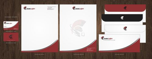 dealerlegion Business Cards and Stationery  Draft # 112 by Deck86