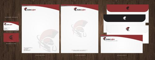dealerlegion Business Cards and Stationery  Draft # 113 by Deck86