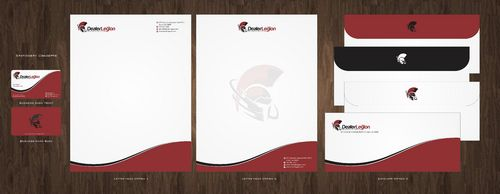 dealerlegion Business Cards and Stationery  Draft # 114 by Deck86