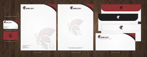 dealerlegion Business Cards and Stationery  Draft # 115 by Deck86