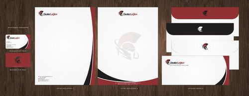 dealerlegion Business Cards and Stationery  Draft # 116 by Deck86