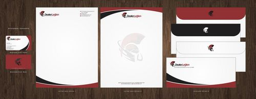 dealerlegion Business Cards and Stationery  Draft # 117 by Deck86