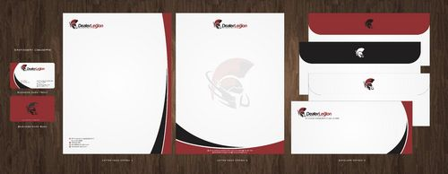 dealerlegion Business Cards and Stationery  Draft # 118 by Deck86