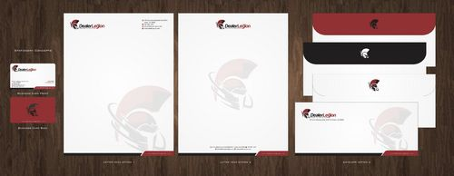 dealerlegion Business Cards and Stationery  Draft # 119 by Deck86