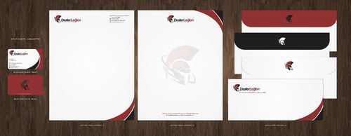 dealerlegion Business Cards and Stationery  Draft # 120 by Deck86