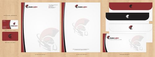 dealerlegion Business Cards and Stationery  Draft # 121 by Deck86