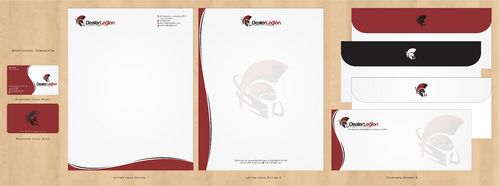 dealerlegion Business Cards and Stationery  Draft # 122 by Deck86