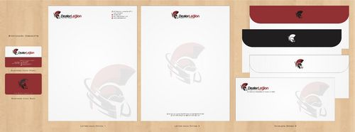 dealerlegion Business Cards and Stationery  Draft # 123 by Deck86