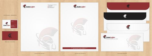 dealerlegion Business Cards and Stationery  Draft # 125 by Deck86