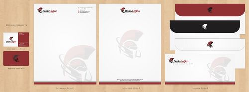 dealerlegion Business Cards and Stationery  Draft # 124 by Deck86