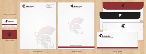 dealerlegion Business Cards and Stationery  Draft # 126 by Deck86