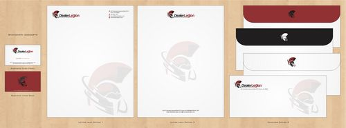 dealerlegion Business Cards and Stationery  Draft # 127 by Deck86