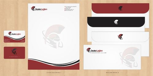 dealerlegion Business Cards and Stationery  Draft # 128 by Deck86