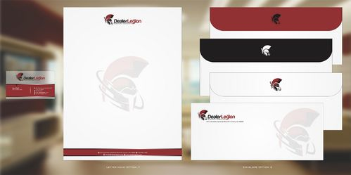 dealerlegion Business Cards and Stationery  Draft # 130 by Deck86
