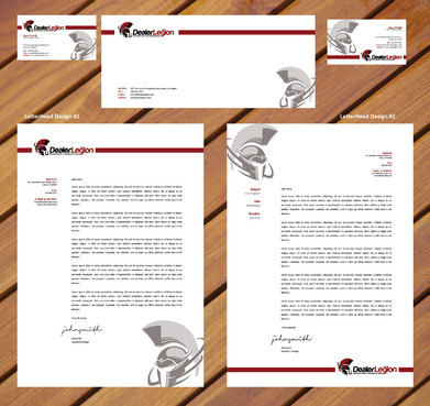 dealerlegion Business Cards and Stationery  Draft # 131 by aadikill