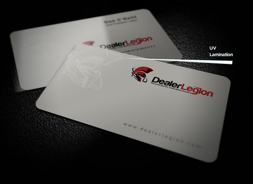 dealerlegion Business Cards and Stationery  Draft # 173 by creatoltd